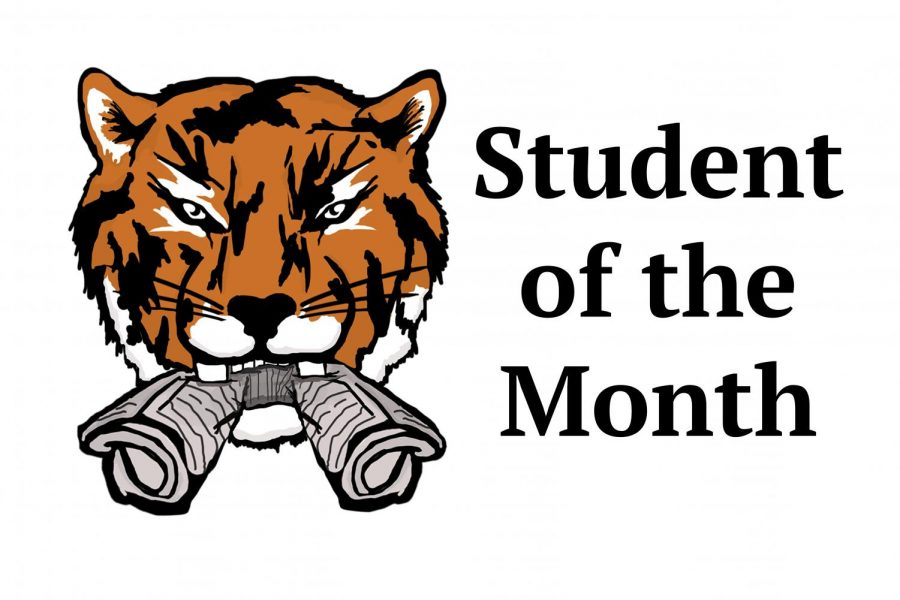 Student of the Month 2020
